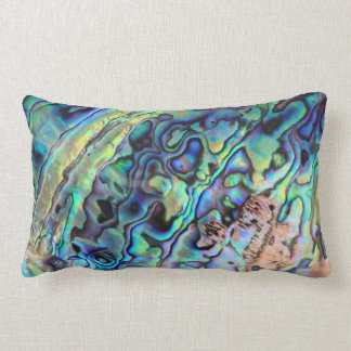 Paua abalone shell pillow