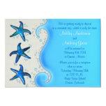 Paua Shell Starfish Post Wedding Reception Only 2 Custom Invite
