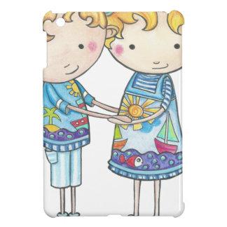 Paul and Gabi twins Case For The iPad Mini