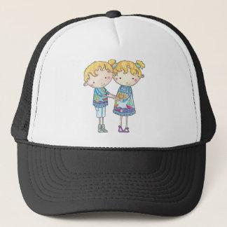 Paul and Gabi twins Trucker Hat