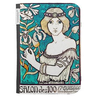 Paul Berthon Salon Des Cent French Art Nouveau Kindle 3 Covers