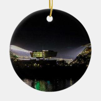 Paul Brown Stadium Ceramic Ornament