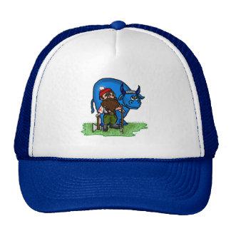 Paul Bunyan and Babe Blue Ox Cap