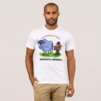 Paul Bunyan and Babe Minnesota Homeboy T-shirt