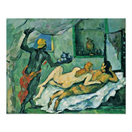 Paul Cezanne - Afternoon in Naples Posters