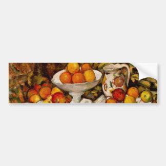 Paul Cézanne - Apples and Oranges Bumper Sticker