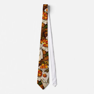 Paul Cézanne - Apples and Oranges Tie