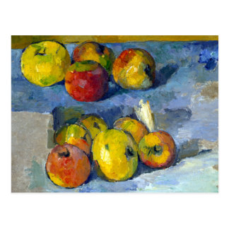 Paul Cezanne Apples Postcard