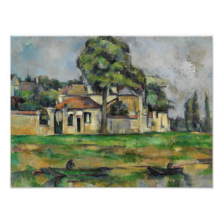 Paul Cezanne - Banks of the Marne Art Photo