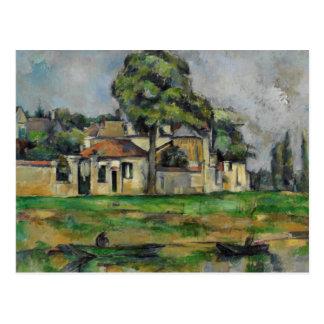 Paul Cezanne - Banks of the Marne Postcard