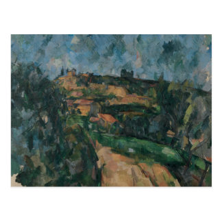 Paul Cezanne - Bend Of The Road Postcard