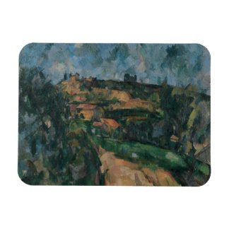 Paul Cezanne - Bend Of The Road Rectangular Photo Magnet