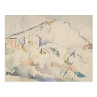 Paul Cezanne-Chateau Noir and Mont Sainte-Victoire Postcard
