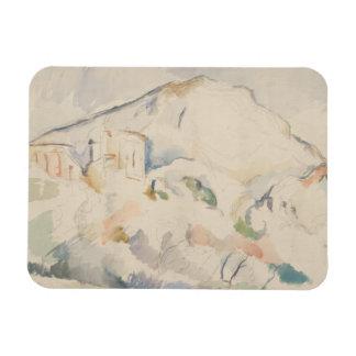 Paul Cezanne-Chateau Noir and Mont Sainte-Victoire Rectangular Photo Magnet