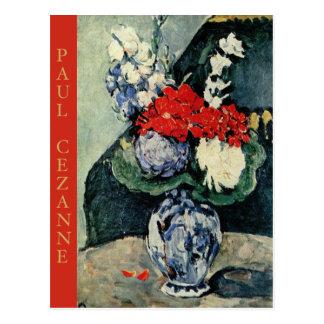 Paul Cezanne, Delft Vase with Flowers Postcard