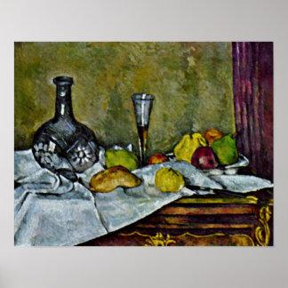 Paul Cezanne - Dessert Posters