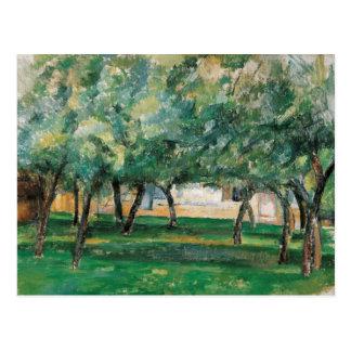 Paul Cezanne - Farm in Normandy Postcard