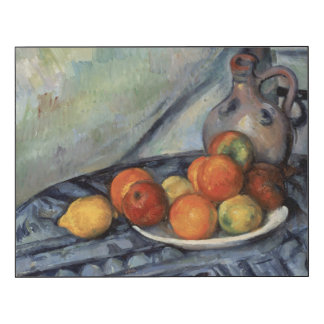 Paul Cezanne - Fruit and a Jug on a Table