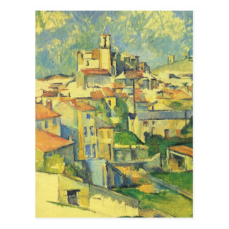 Paul Cezanne - Gardanne Postcard