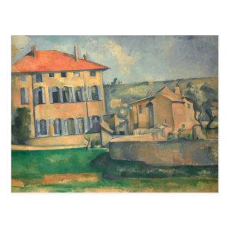 Paul Cezanne - House in Aix Postcard
