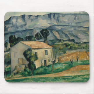 Paul Cezanne - House in Provence Mouse Pad