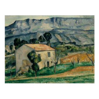 Paul Cezanne - House in Provence Postcard