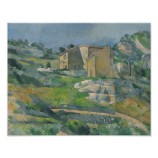 Paul Cezanne - Houses in Provence Photo Art