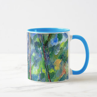 Paul Cezanne: In the Woods, painting by Cezanne Mug