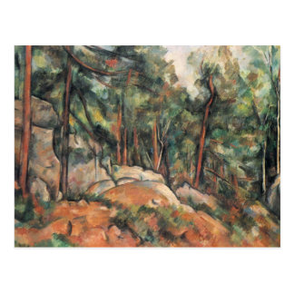 Paul Cezanne - In The Woods Postcard