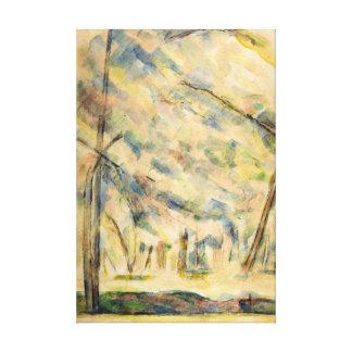Paul Cezanne Landscape Canvas Print