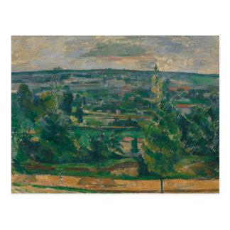 Paul Cezanne - Landscape from Jas de Bouffan Postcard