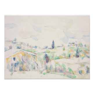 Paul Cezanne - Landscape in Provence Photo Print