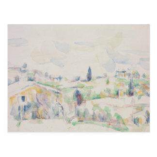 Paul Cezanne - Landscape in Provence Postcard