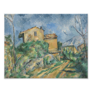 Paul Cezanne - Maison Maria with a View of Chateau Photo