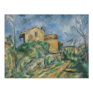 Paul Cezanne - Maison Maria with a View of Chateau Postcard