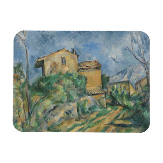 Paul Cezanne - Maison Maria with a View of Chateau Rectangular Photo Magnet