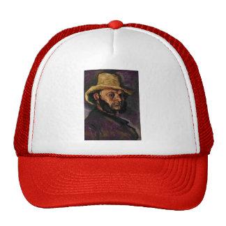 Paul Cezanne- Man in a Straw Hat
