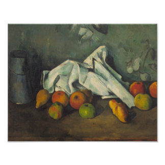 Paul Cezanne - Milk Can and Apples Art Photo