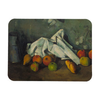 Paul Cezanne - Milk Can and Apples Rectangular Photo Magnet