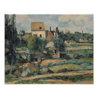 Paul Cezanne - Mill on the Couleuvre at Pontoise Photo