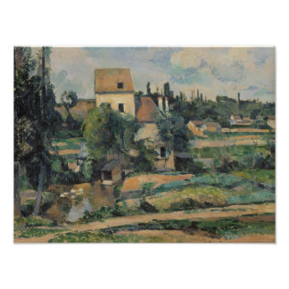 Paul Cezanne - Mill on the Couleuvre at Pontoise Photo Print