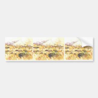 Paul Cezanne- Mont Sainte-Victoire Bumper Sticker