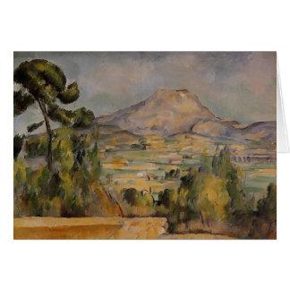 Paul Cezanne- Mont Sainte-Victoire Card