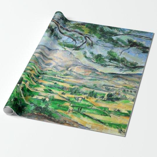 Paul Cézanne, Mont Sainte-Victoire, Courtald Wrapping Paper