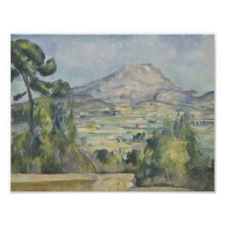 Paul Cezanne - Montagne Saint-Victoire Photo Print