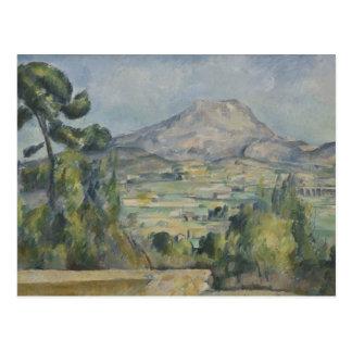 Paul Cezanne - Montagne Saint-Victoire Postcard