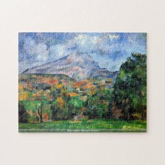 Paul Cezanne - Mount St Victoire Jigsaw Puzzle