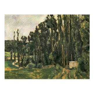 Paul Cezanne - Poplars Postcard