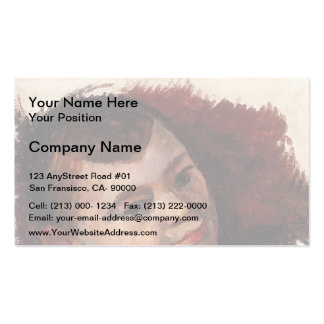 Paul Cezanne- Portrait of the Artist s Son Business Card Templates