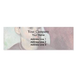 Paul Cezanne- Portrait of the Artist's Son Business Card